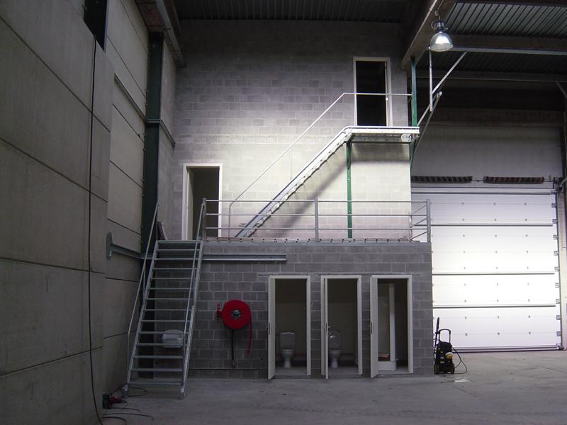 Te huur bedrijfsruimte opslagruimte machelen - Kantoor met geintegreerde opslagruimte ...